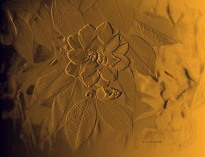 Golden Effulgence Art Print by Jeanette C Landstrom