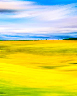 Digital Art - Golden Fields Of England - My Canterbury Tale by Mark E Tisdale