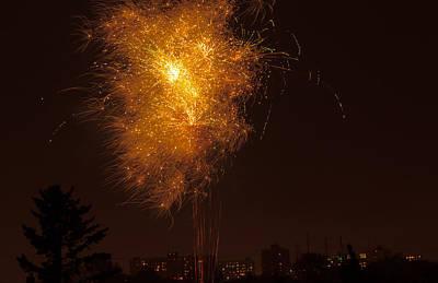 Golden Fireworks. Original by Tibor Co