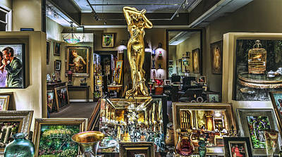 Photograph - Golden Gallery by Phil Clark