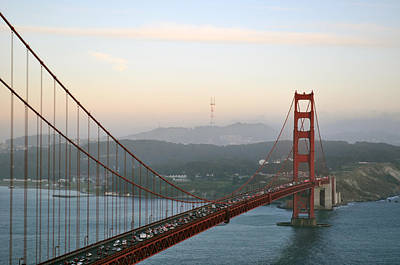 Photograph - Golden Gate and Sutro Tower by Scott Norton