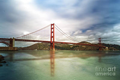 Photograph - Golden Gate At Dawn by Stacey Granger