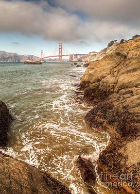 Photograph - Golden Gate Bay by Charles Garcia