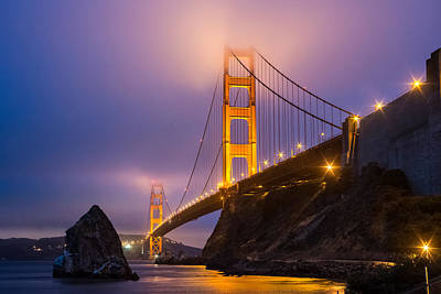 Golden Gate Beauty Art Print