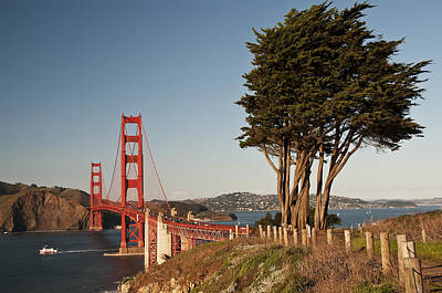 Photograph - Golden Gate Bridge 1 by Lee Kirchhevel