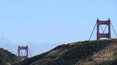 Photograph - Golden Gate Bridge 1 by Mary Mikawoz