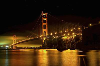 Photograph - Golden Gate Bridge 1 by SC Heffner