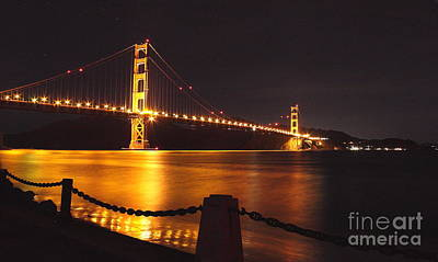 Photograph - Golden Gate Bridge 1 by Theresa Ramos-DuVon