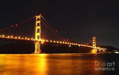 Golden Gate Bridge 2 Art Print by Theresa Ramos-DuVon