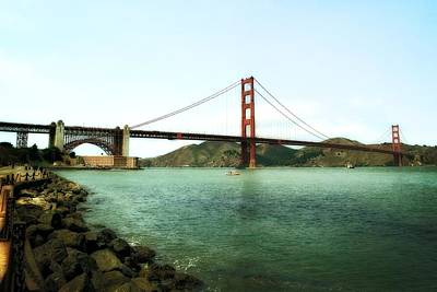 Photograph - Golden Gate Bridge 2.0 by Michelle Calkins