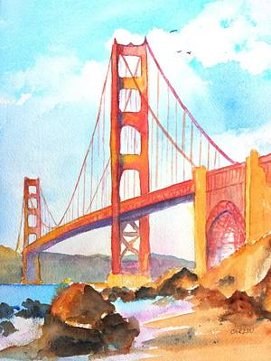 Golden Gate Bridge 3 Art Print