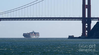 Photograph - Golden Gate Bridge 3 by Mary Mikawoz