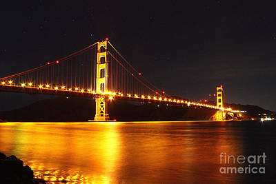 Photograph - Golden Gate Bridge 3 by Theresa Ramos-DuVon