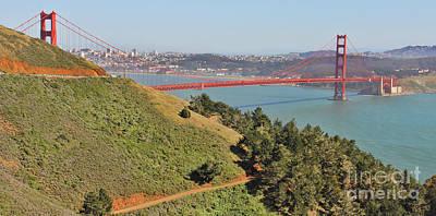 Winter Animals - Golden Gate Bridge 8208 by Jack Schultz
