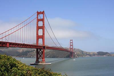 Golden Gate Bridge Art Print by Ann Van Breemen