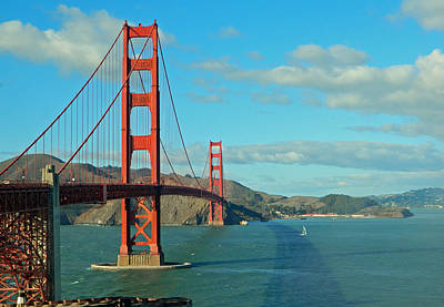 Photograph - Golden Gate Bridge by Emmy Vickers