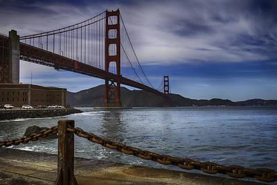 Golden Gate Bridge Fort Point Art Print