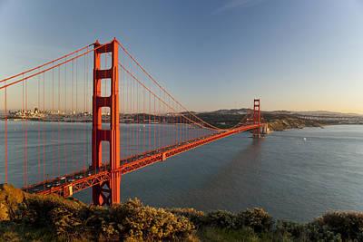 Golden Gate Bridge Art Print by Francesco Emanuele Carucci