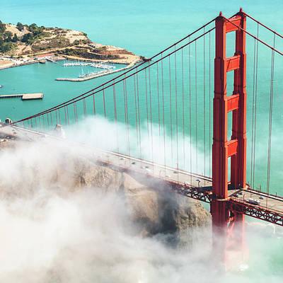 Golden Gate Bridge Art Print by Franckreporter
