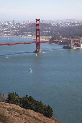 Golden Gate Bridge Art Print by Jenna Szerlag