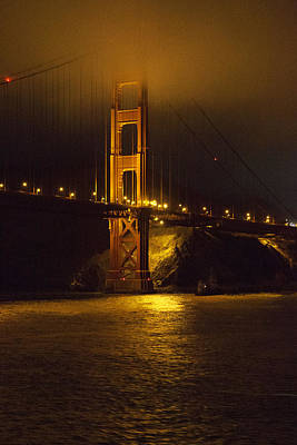 Photograph - Golden Gate Bridge by John Noel