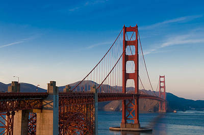 Photograph - Golden Gate Bridge by Tyson and Kathy Smith