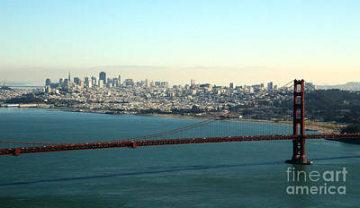 San Francisco Photograph - Golden Gate Bridge by Linda Woods