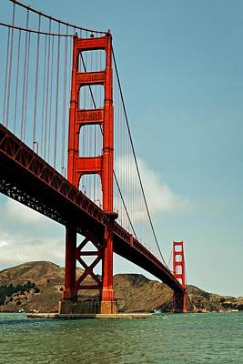 Photograph - Golden Gate Bridge by Michelle Calkins