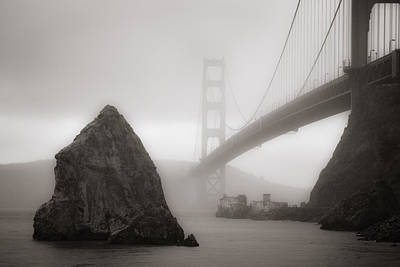 Photograph - Golden Gate Bridge by Niels Nielsen