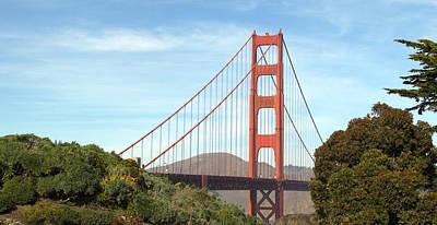 Photograph - Golden Gate Bridge No.6 by Christopher Winkler
