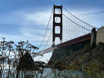 Photograph - Golden Gate Bridge North by Jeff Lowe