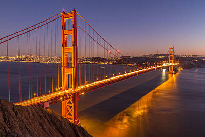 Photograph - Golden Gate Bridge by Pierre Leclerc Photography