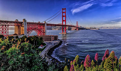 Photograph - Golden Gate Bridge by Ron Pate