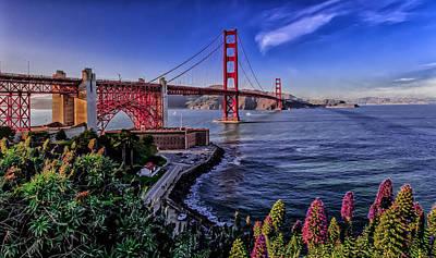 Photograph - Golden Gate Bridge by Ron Pate
