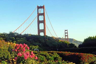 Photograph - Golden Gate Bridge   San Francisco Ca by Willie Harper