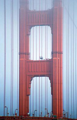 Photograph - Golden Gate Bridge San Francisco California by Pam  Elliott