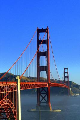 Photograph - Golden Gate Bridge   San Francisco California by Willie Harper