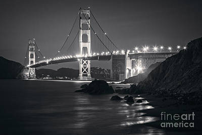 Photograph - Golden Gate Bridge San Francisco by Colin and Linda McKie