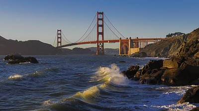 Golden Gate Bridge Sunset Study 1 Art Print