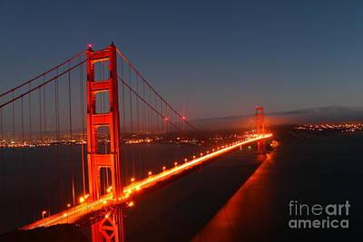 Golden Gate Bridge Art Print by Theresa Ramos-DuVon