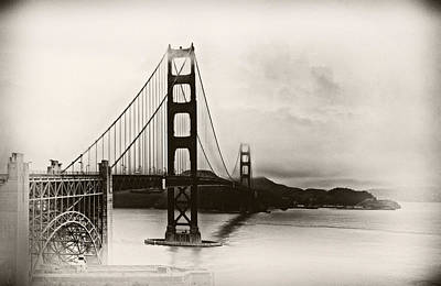 Photograph - Golden Gate Bridge by Tomasz Dziubinski