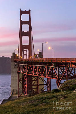 Photograph - Golden Gate Bridge Towers by Kate Brown