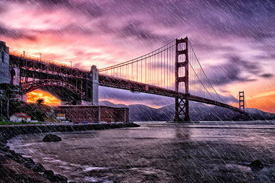 Photograph - Golden Gate by Emmanuel Panagiotakis
