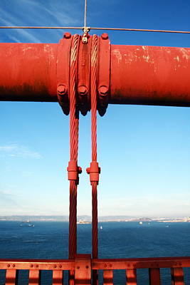 Photograph - Golden Gate Fixing by Aidan Moran