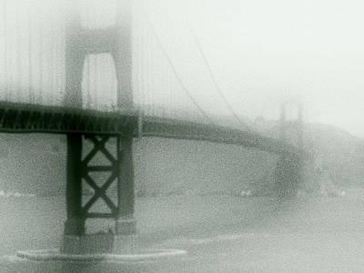 Rocky Coast Digital Art - Golden Gate Fog by Daniel Hagerman