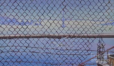 Golden Gate From Alcatraz Art Print by Marco Ippaso