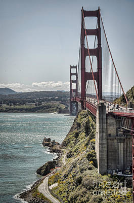 Photograph - Golden Gate by Heather Applegate