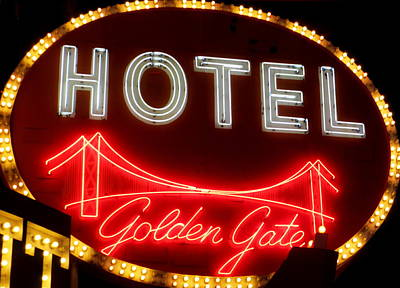 Photograph - Golden Gate Hotel by Randall Weidner
