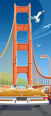 Golden Gate Art Print