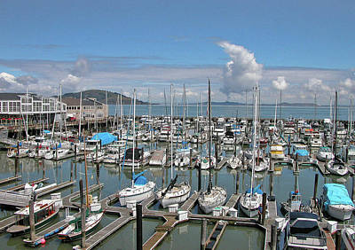 Photograph - Golden Gate Marina 0960 by Guy Whiteley